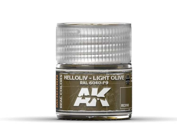 Real Colors - Helloliv-Light Olive RAL 6040-F9