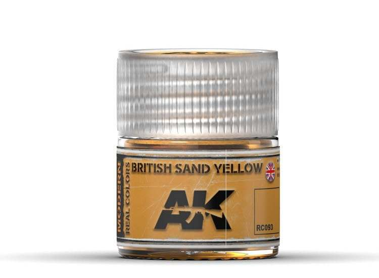 Real Colors - British Sand Yellow