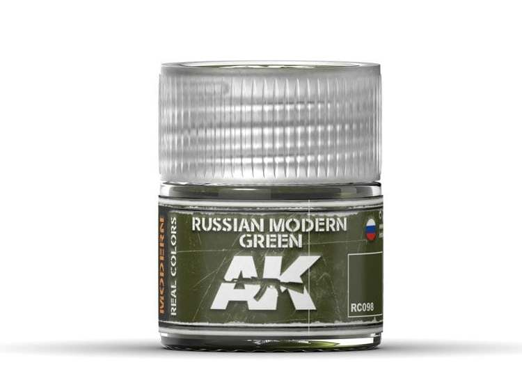 Real Colors - Russian Modern Green