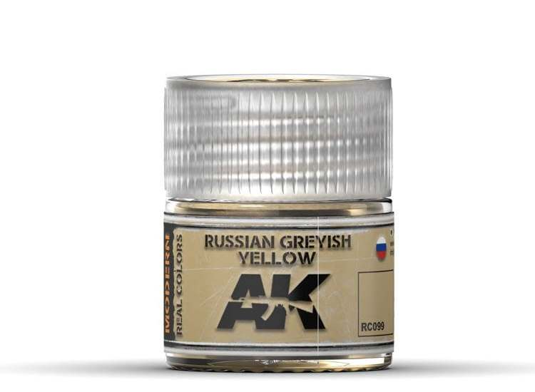 Real Colors - Russian Greyish Yellow