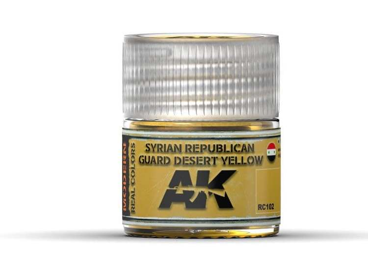 Real Colors - Syrian Republican Guard Desert Yellow