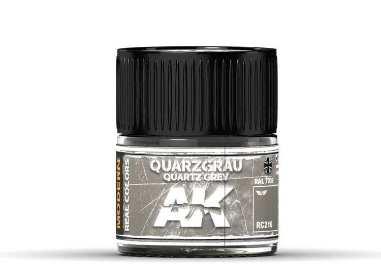 Real Colors - Quarzgrau-Quartz Grey RAL 7039