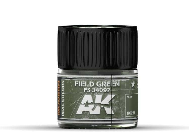Real Colors - Field Green FS 34097