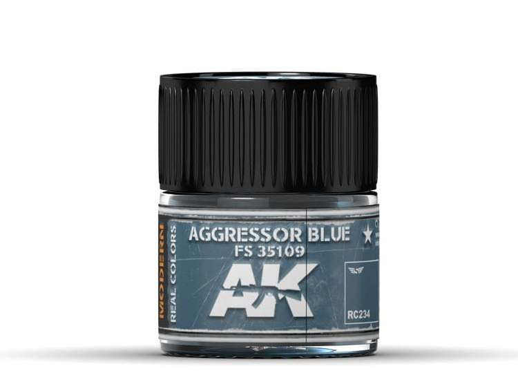 Real Colors - Aggressor Blue FS 35109