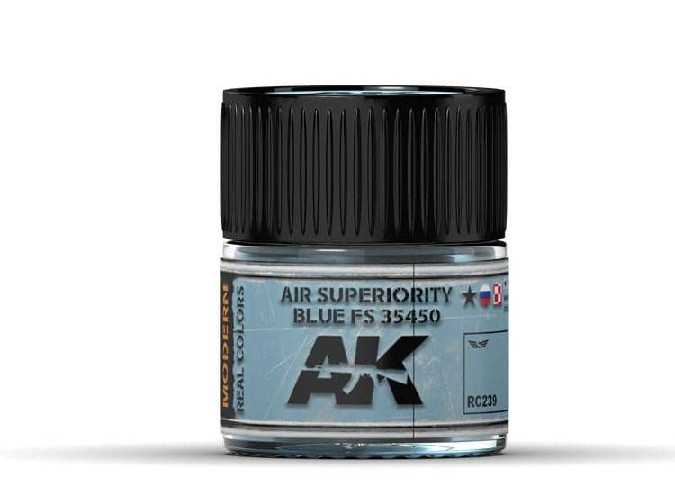 Real Colors - Air Superiority Blue FS 35450