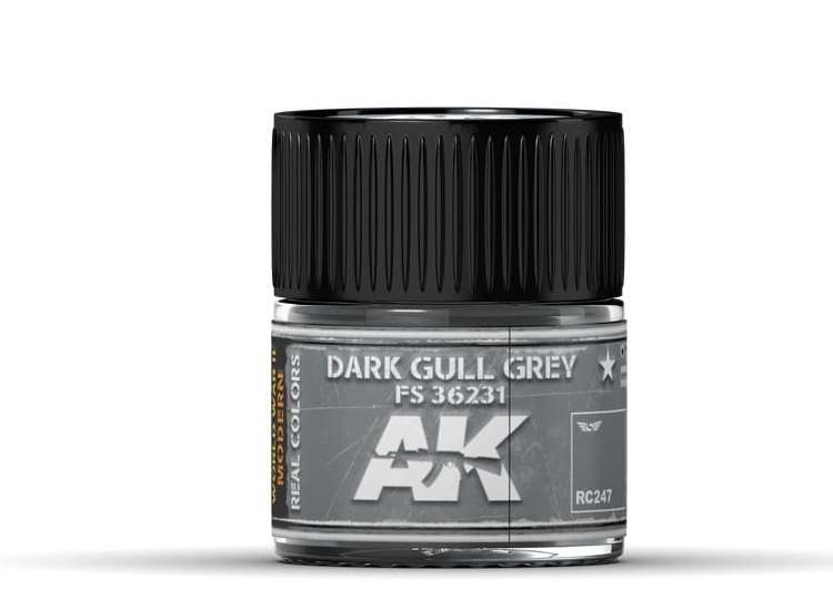 Real Colors - Dark Gull Grey FS 36231