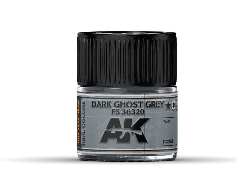 Real Colors - Dark Ghost Grey FS 36320
