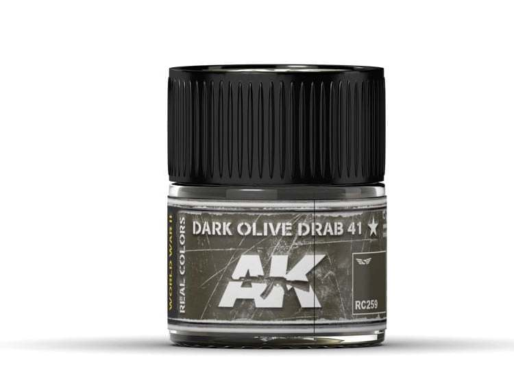 Real Colors - Dark Olive Drab 41