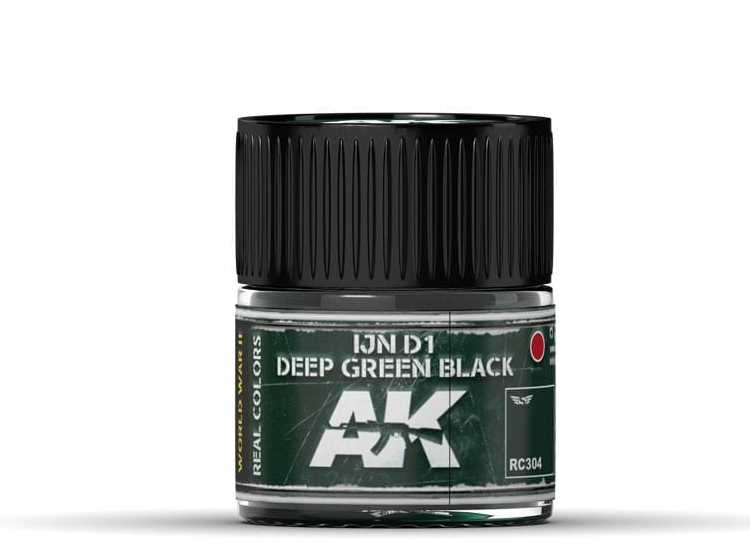 Real Colors - IJN D1 Deep Green Black