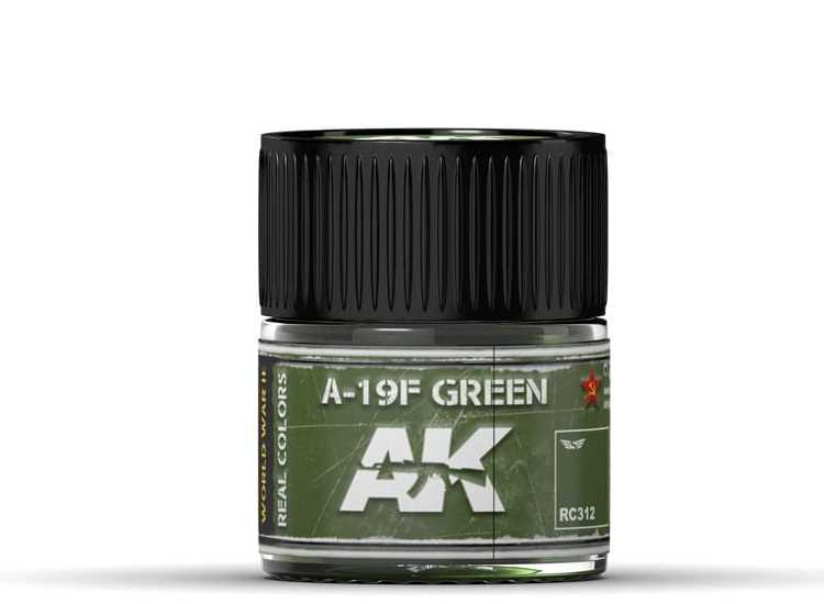 Real Colors - A-19F Grass Green
