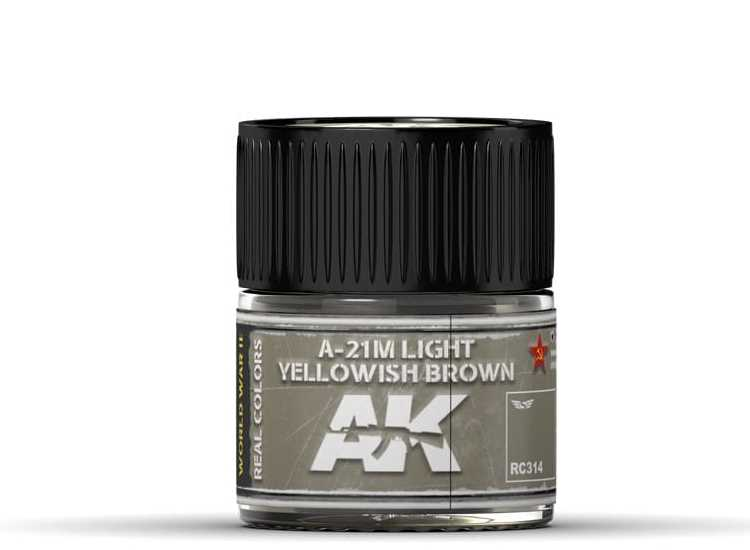 Real Colors - A-21M Light Yellowish Brown