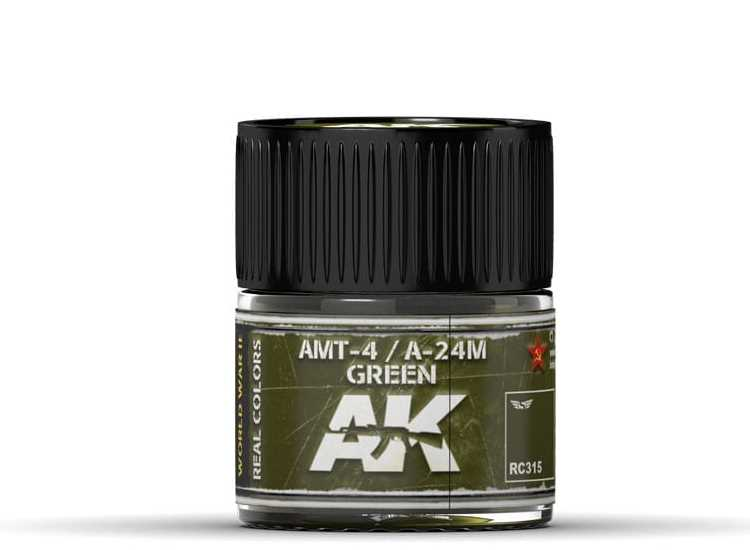 Real Colors - AMT-4 / A-24M Green