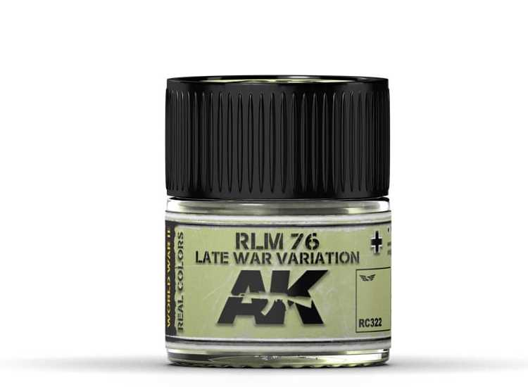 Real Colors - RLM 76 Late War Variation
