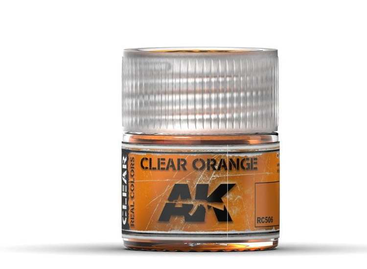 Real Colors - Clear Orange