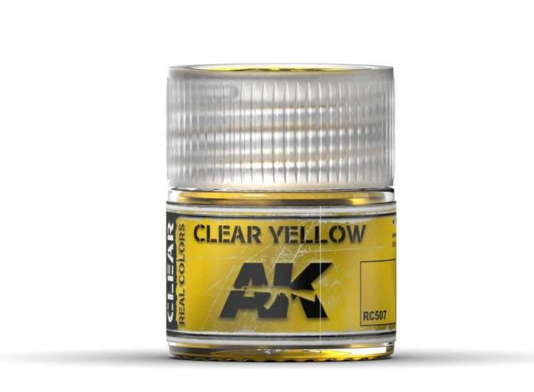 Real Colors - Clear Yellow