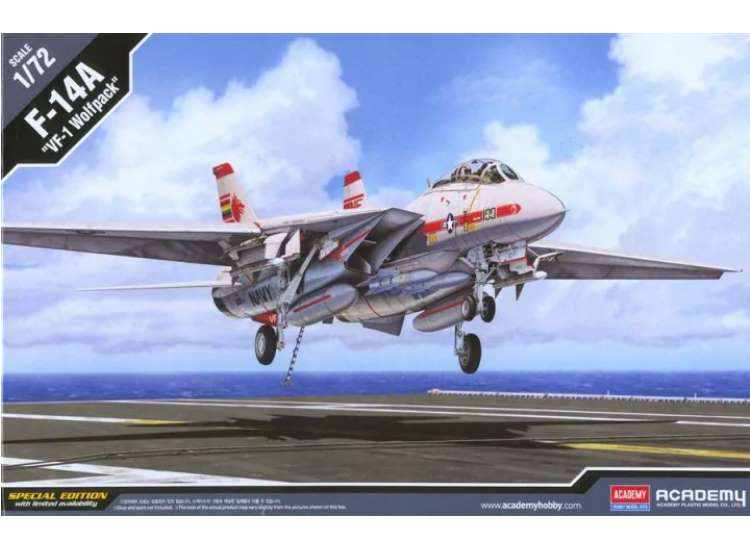 Academy F-14A Tomcat 'VF-1 Wolf Pack' 12504