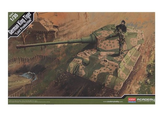 Academy 1/35 13229 German King Tiger [Last Production]