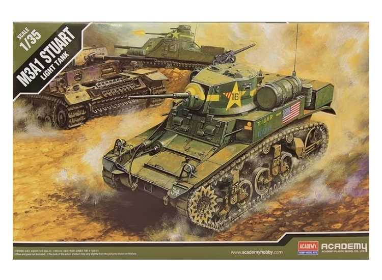 Academy M3A1 Stuart Light Tank 13269
