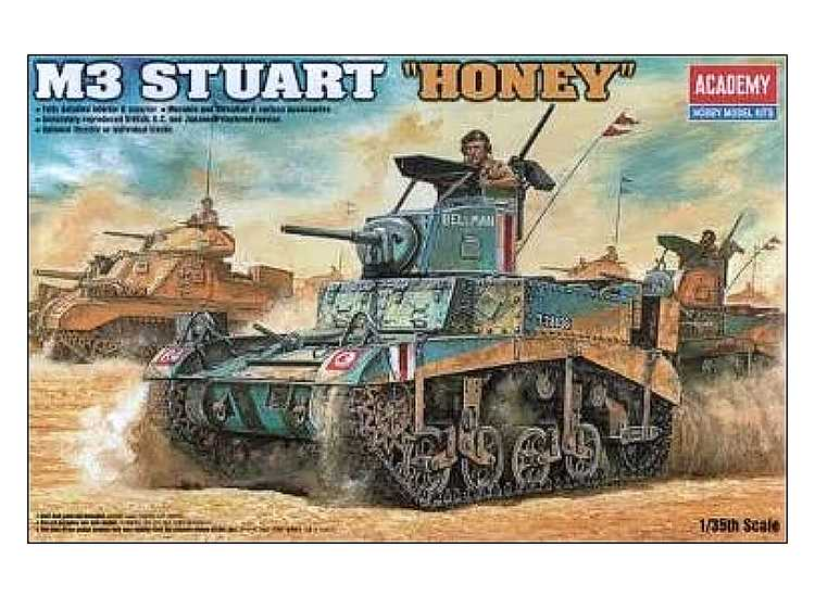 Academy M3 Stuart Honey - British Version 13270