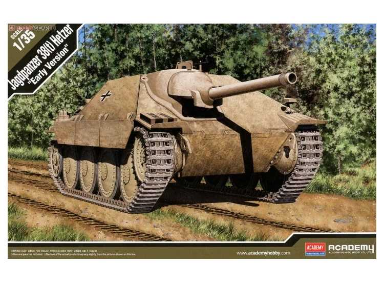 Academy Jagdpanzer 38(t) Hetzer Early Version