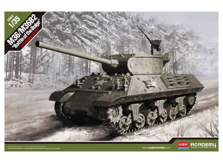 M36B2 US Army Battle of the Bulge