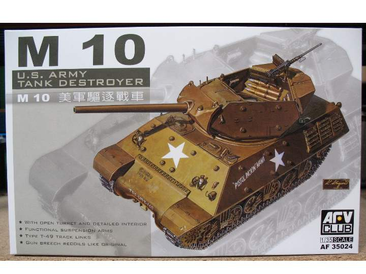 AFV Club U.S. M10 Tank Destroyer 35024