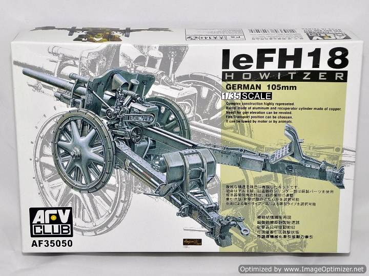 AFV Club FH18 105mm Cannon 35050