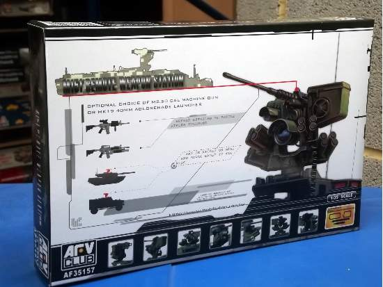 AFV Club M151 Remote Weapon Station RWS 35157