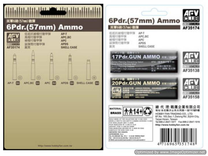 6 Pdr (57mm) Ammo