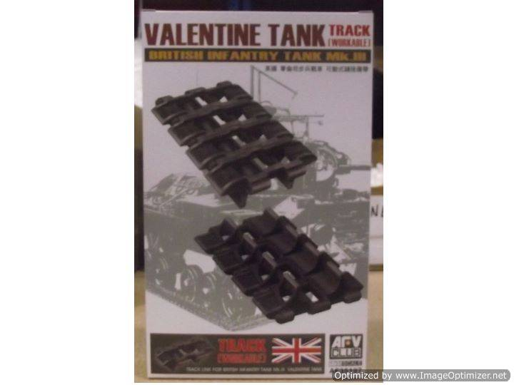 AFV Club Workable Tracklinks for Valentine MkIII