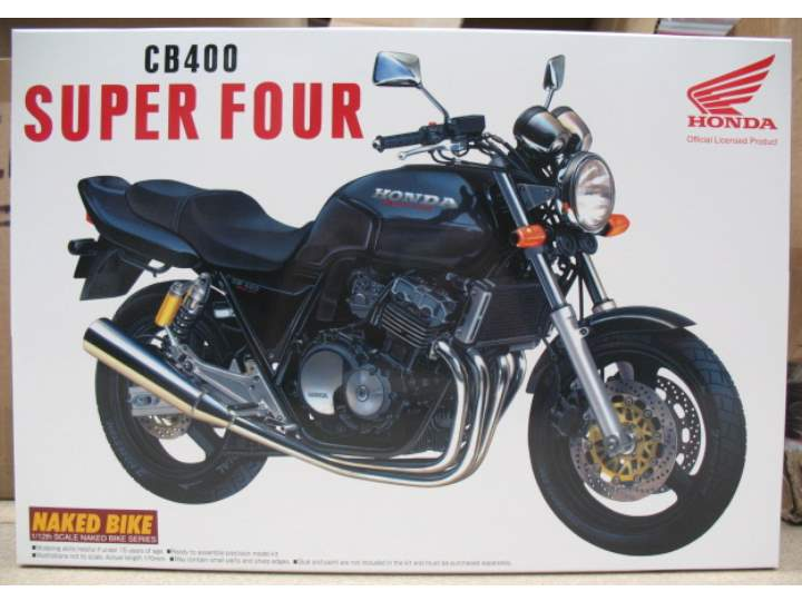 Aoshima Honda CB 400 Super Four Black 042151