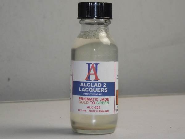 Alclad 2 30ml 203 Jade Green-to-Gold Prismatic Finishes - Airbrush Only