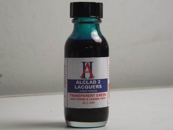 Alclad 2 30ml 404 Transparent Green - Transparent Colour