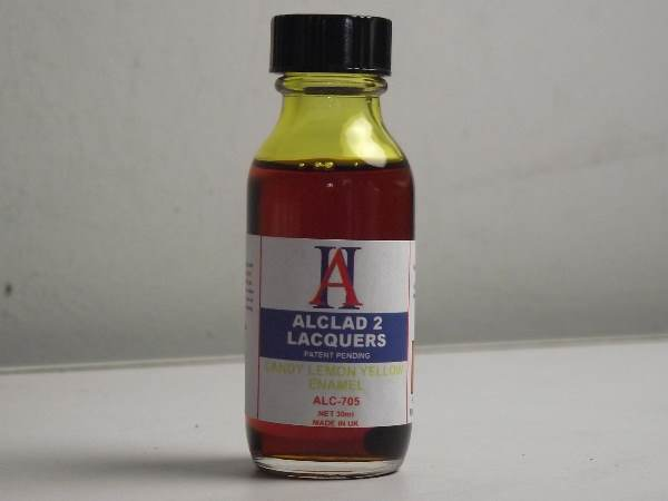 Alclad 2 30ml 705 Candy Lemon Yellow Enamel