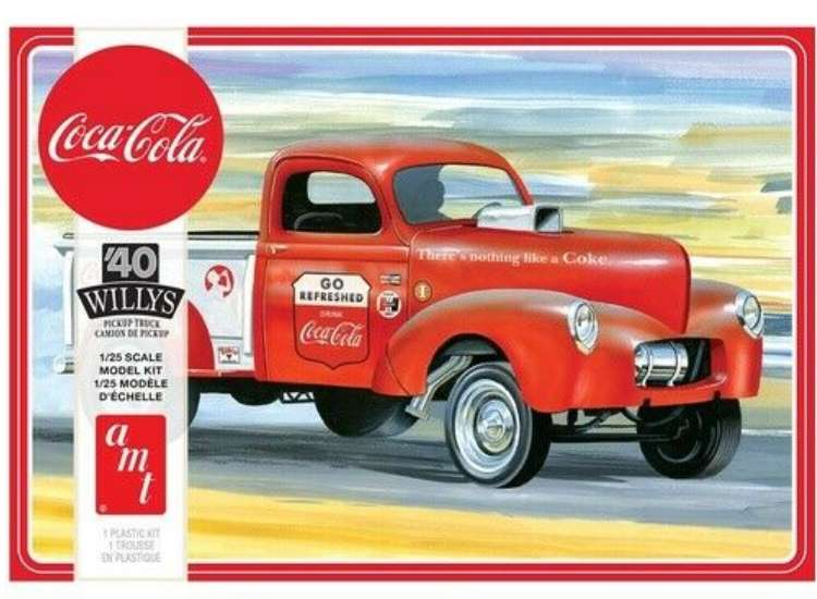 AMT Coca-Cola '40 Willy's Pickup Truck 1145