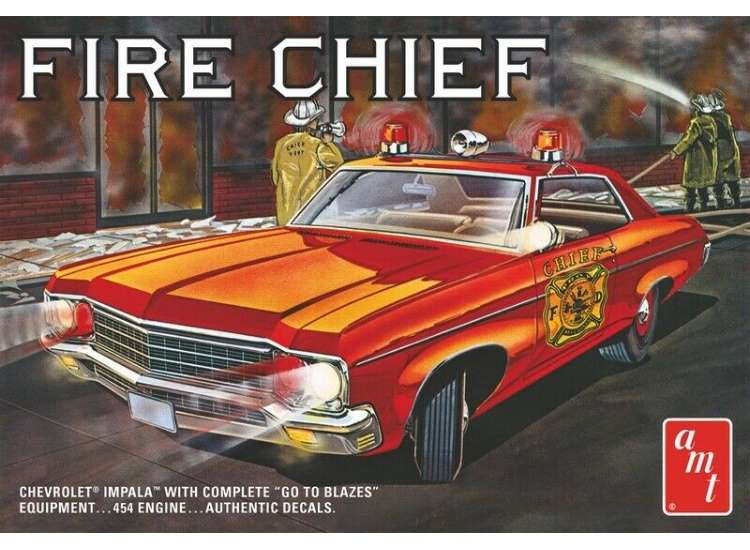 AMT Fire Chief 1971 Chevy Impala 1162