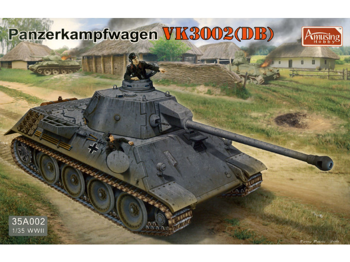 Panzerkampfwagen VK3002 - DAMAGED BOX
