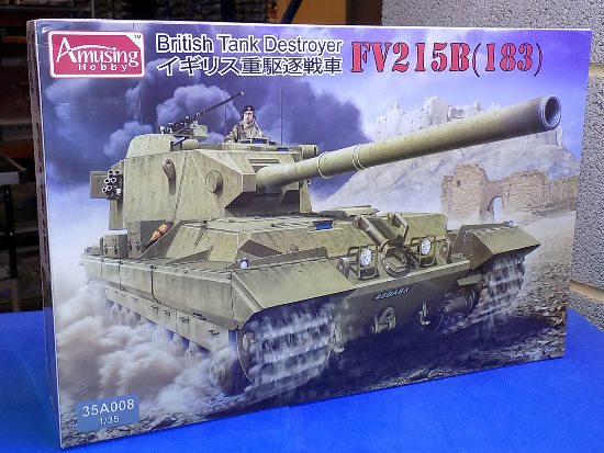 Amusing Hobby 1/35 35A008 FV215B (183) British Tank Destroyer