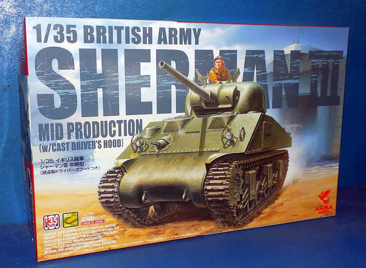 Asuka British Army Sherman III Mid Production
