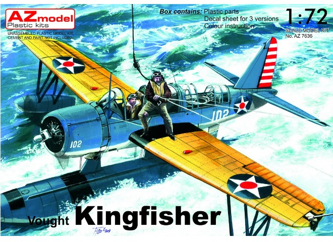 Vought Kingfisher US Navy Floatplane