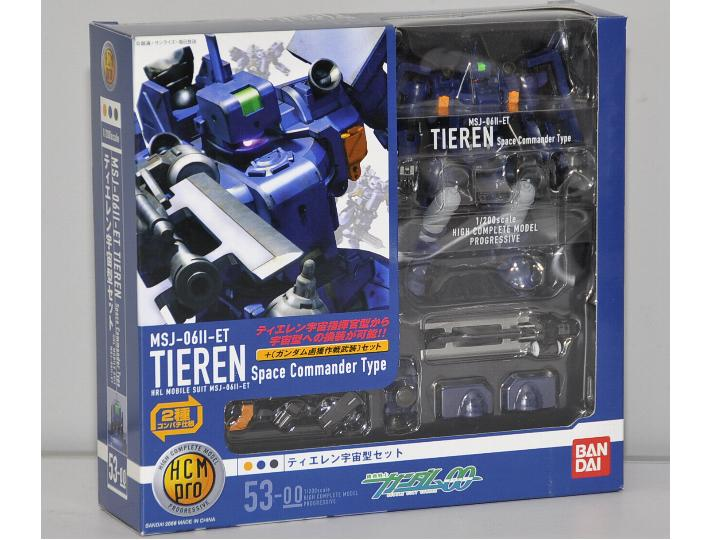 HCM-Pro 53 Gundam OO Tiren Space Commander Type