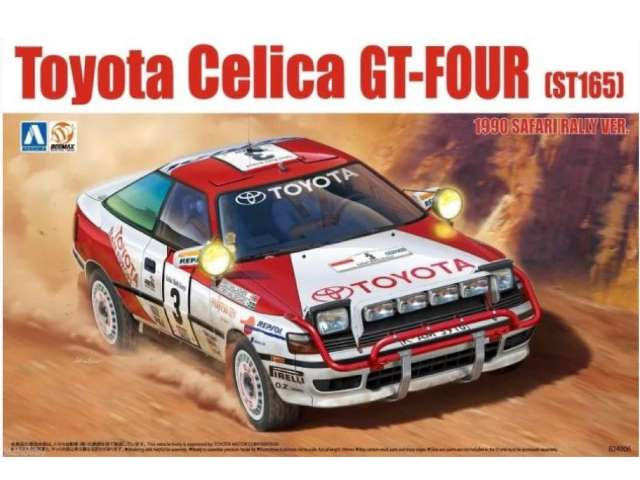 Beemax Toyota Celica ST-165 GT-Four 1990 Safari Rally Ver. 24006