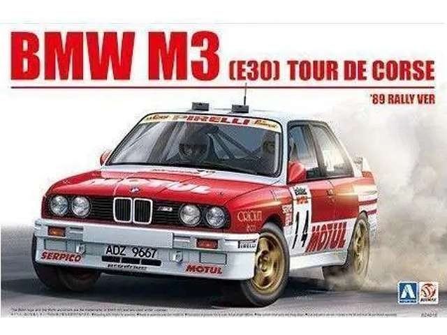 BMW M3 (E3) Tour de Corse 1989 Rally Version