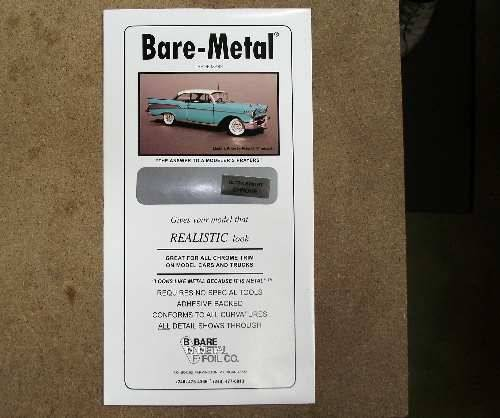 Bare Metal na 04 BARE METAL FOIL Ultra Chrome (self adhesive)