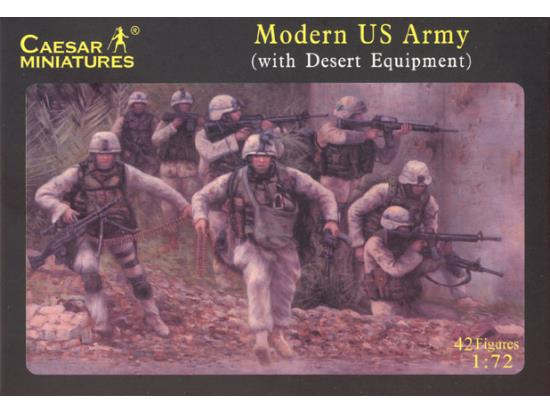 Modern US Army - with desert equipment