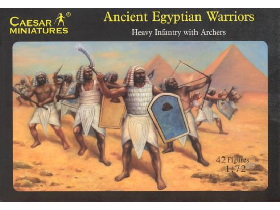 Ancient Egyptian Warriors - Heavy Infantry with Archers