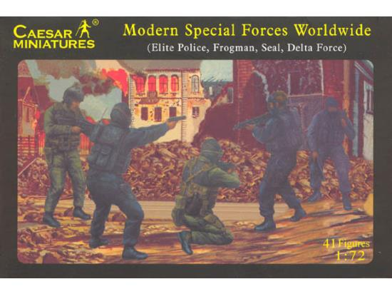 Modern Special Forces (Elite Police/Frogman/Seat Delta Force