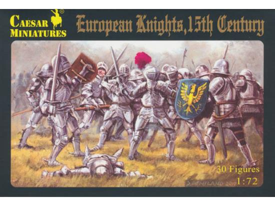 Caesar Miniatures European Knights, 15th Century