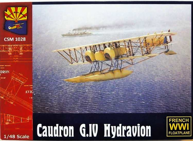 Copper State Models Caudron G.IV Hydravion - French Navy 1028