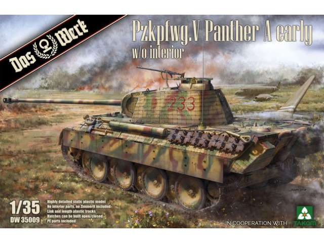 Pzkpfwg. V Panther Ausf.A Early